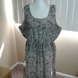 NWOT Speed Control Printed Maxi Dress SZ 3X